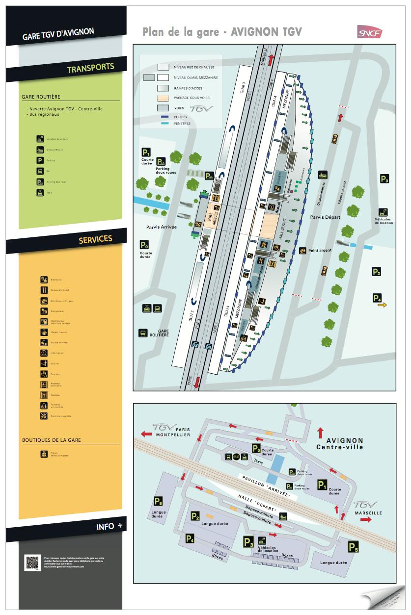 Plan de Gare